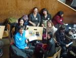 clockwise: Hi Ching, Michelle Lee, Lucy Sheen, Chowee Loew, Amanda Rogers, Jennifer Lim