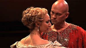 Brisbane 2014 Lisa McCune and international opera sensation Teddy Tahu Rhodes as the King of Siam.