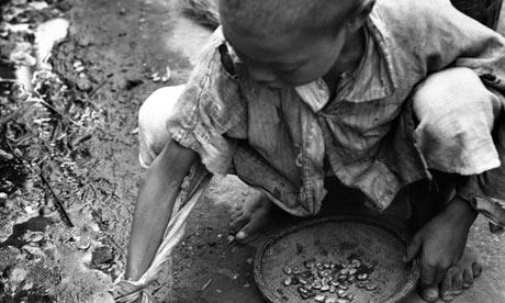 china homeless child