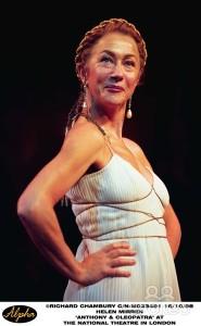 Mirren as Cleopatra NT 1988