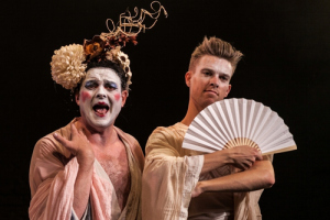 Ian Mowat and Joel Baylis in Pacific Overtures Photo Credit: Darren Bell