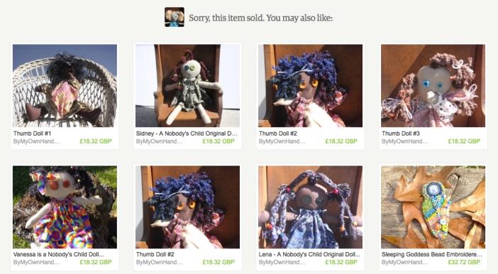 Nobody'sChild Dolls