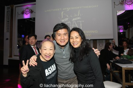 From Orange Is The New Black, Actress Lori Tan Chinn, Standup Comic and Actor, Phil Nee, Actress, Karen Lee