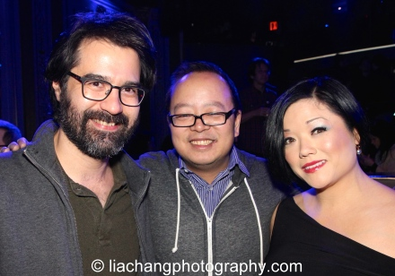 Panelists Greg Pak, Jeff Yang, and TFP - photo by Lia Chang