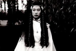 Lucy Sheen as The Woman Warrior in PING PONG 1987