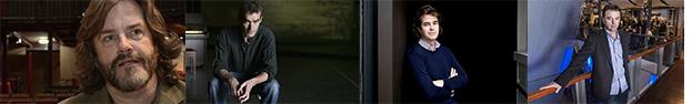 Greg Doran RSC|Rufus Norris RNT| Rupert Goold Almeida|Edward Hall Hampstead