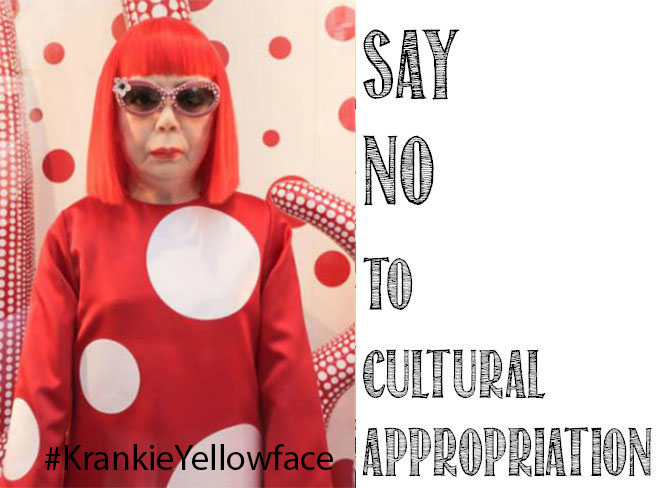 Say No To Cultural Appropriation YelloFoace